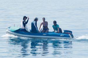 zodiac return after surfing by surf banyak