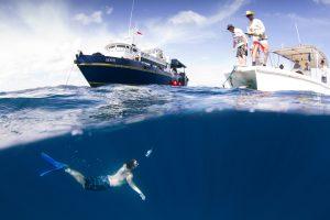 seriti water fishing and swimming surf banyak