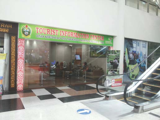 tourist information center at surf banyak
